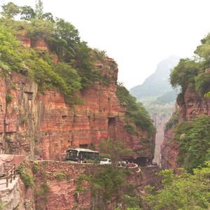 河南游记图文- 太行山下的风景—自驾新乡郭亮