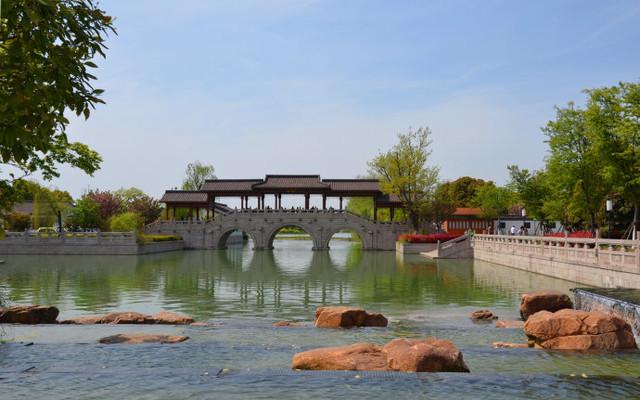 常熟尚湖风景优美如画!