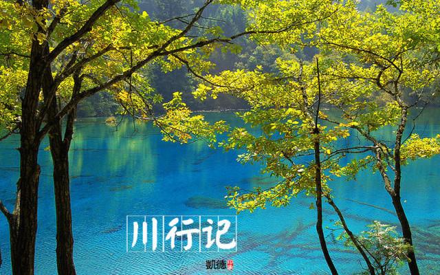 【加游站】秋天的童话:九寨沟川行记
