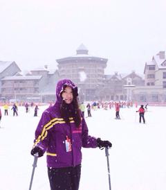 [江原道游记图片] 韩国洗肺之旅直播Day2-江原道滑雪