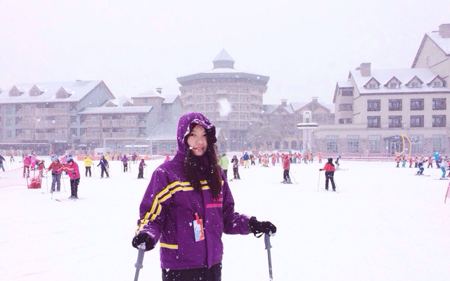 韩国洗肺之旅直播Day2-江原道滑雪