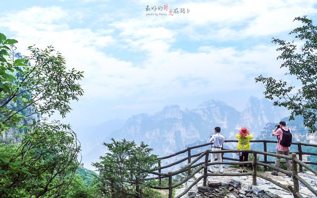 最好的时光在路上,相遇最美的白石山