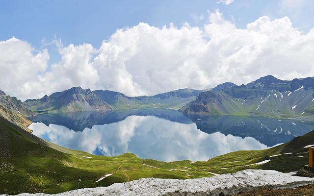 长白山天池——留在盛夏的一场梦