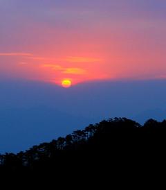 [黄山风景区游记图片] 登顶黄山,日出云海两难全。