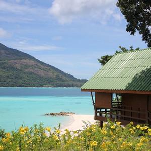 合艾游记图文-十一泰国丽贝岛——那片湛蓝的海