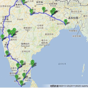 拉杰吉尔游记图文-2013年3月的印度之行之一(概况)