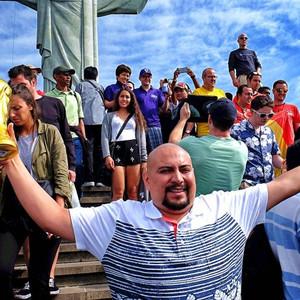 里约热内卢游记图文-【直击巴西】里约基督山,足球宗教朝圣地