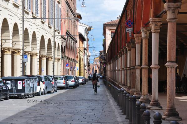 胖子之城——博洛尼亚的回廊下
