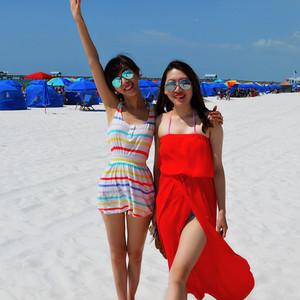 佛罗里达州游记图文-【加游站】告别夏日,美东最美白沙滩-坦帕湾+清水湾 3日游