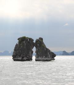 [下龙湾游记图片] 34天游中国之再下越南(世界第七大奇迹下龙湾·启程去看斗鸡石)