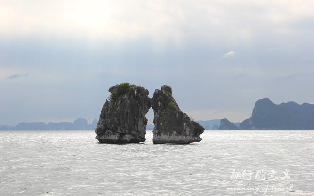 34天游中国之再下越南(世界第七大奇迹下龙湾·启程去看斗鸡石)