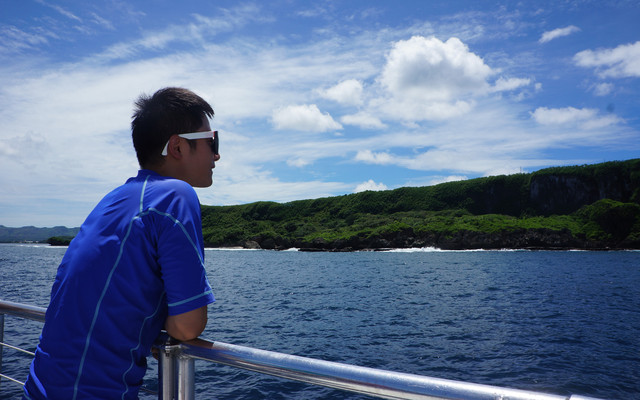 【加油站】关岛,从4200米的天空到深海47米的刺激