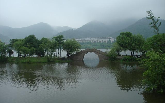 幽、雅、静的湘湖赛西湖