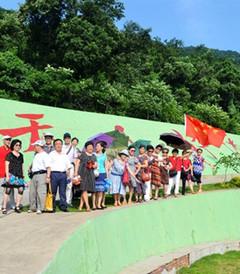 [京山游记图片] 给力快乐群游京山绿林山景区