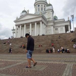 赫尔辛基游记图文-我的芬兰之旅:夏天去了地球最北的国度。。翻开照片很想念当时的气味和气氛。。