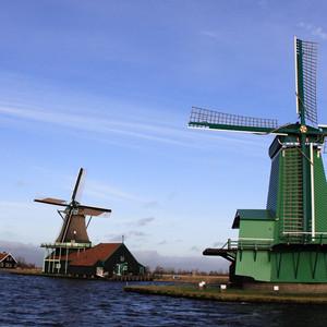 水城游记图文-荷兰风车村----儿时的梦
