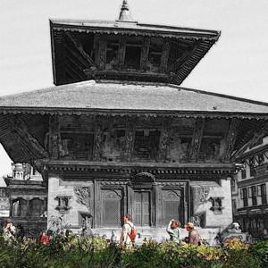 巴克塔普尔游记图文-重彩尼泊尔(三) 佛事佛风①巴德岗杜巴广场