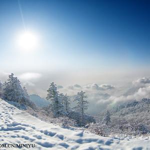 大邑游记图文-西岭雪山:未到北方,白雪茫茫