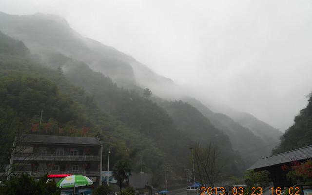 烟雨竹海安吉行