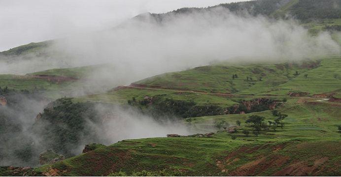 Feihu Valley · Grassland in the Sky2