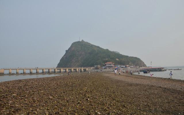 【锦州】笔架山,神奇的海上天桥
