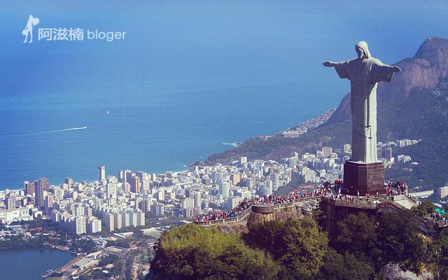 【巴西】里约热内卢 航拍基督山