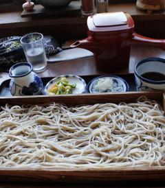 [山形县游记图片] 东北、关东各地B级美食第二弹:山寺对面石的板荞麦
