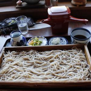 山形县游记图文-东北、关东各地B级美食第二弹:山寺对面石的板荞麦