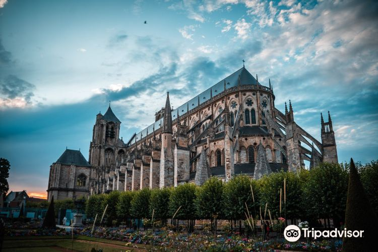 Towers and Crypt of Bourges Cathedral1