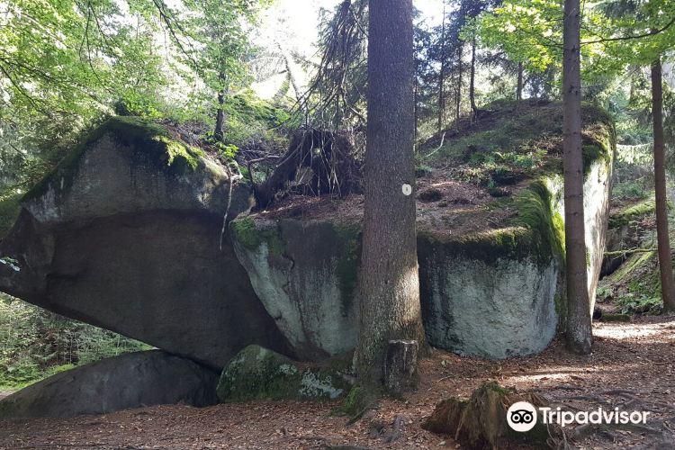 Felsenlabyrinth auf der Luisenburg4
