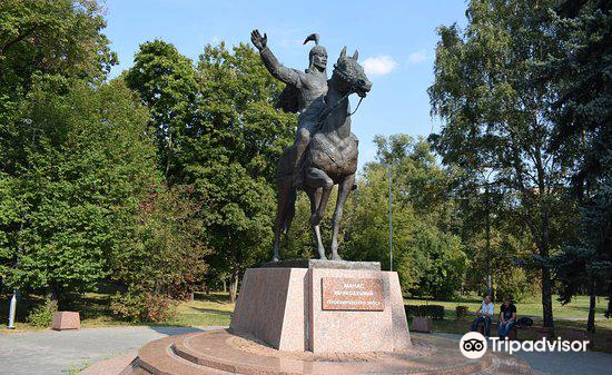 Monument to Manas Velikodushny