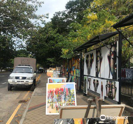Nelum Pokuna Art Street2