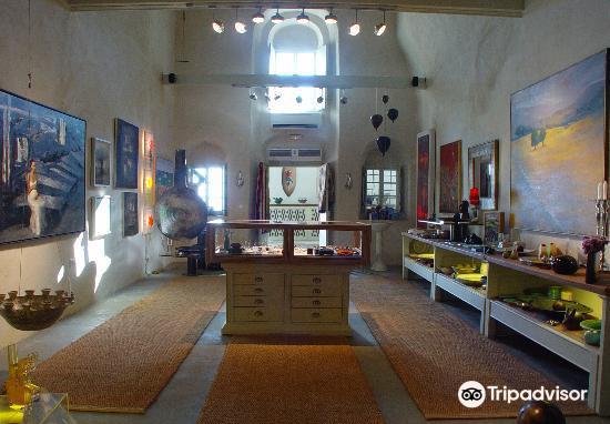Tzamia - Krystalla Art Gallery Santorini3