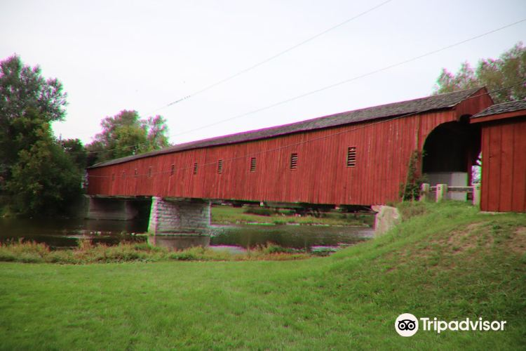 West Montrose Covered Bridge (Kissing Bridge)3