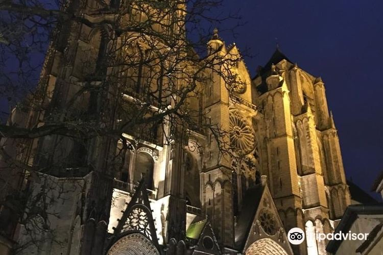 Towers and Crypt of Bourges Cathedral3