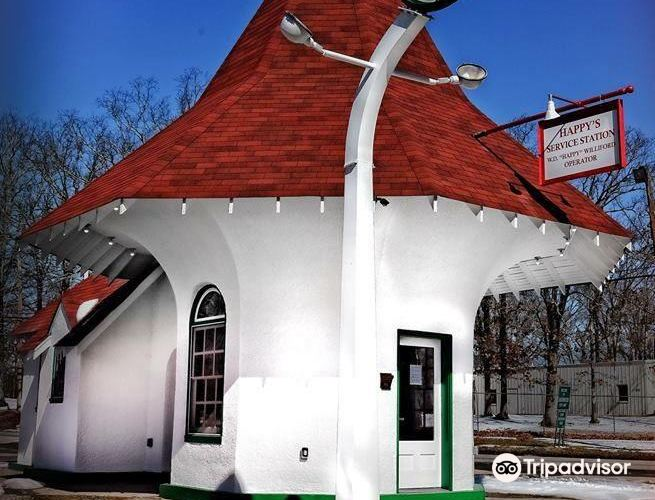 The Historic Roundtop Filling Station