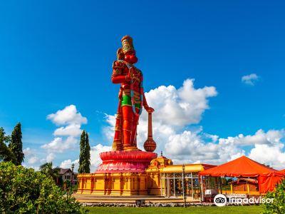 Dattatreya Temple and Hanuman Statue