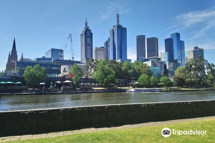 Southgate, on the Banks of the Yarra River