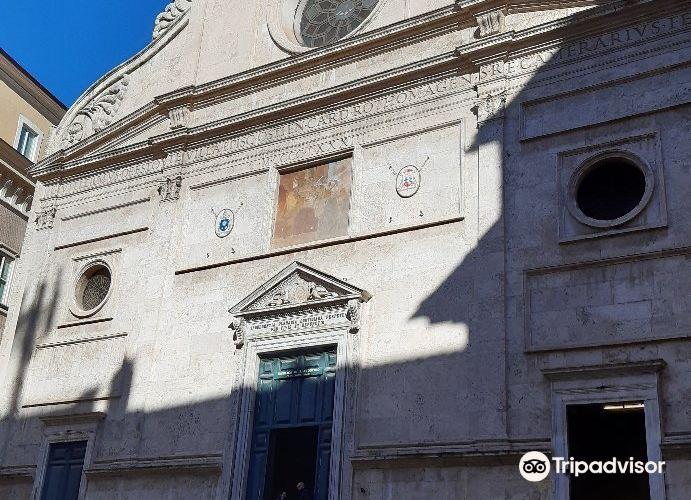 Basilica di Sant'Agostino in Campo Marzio2