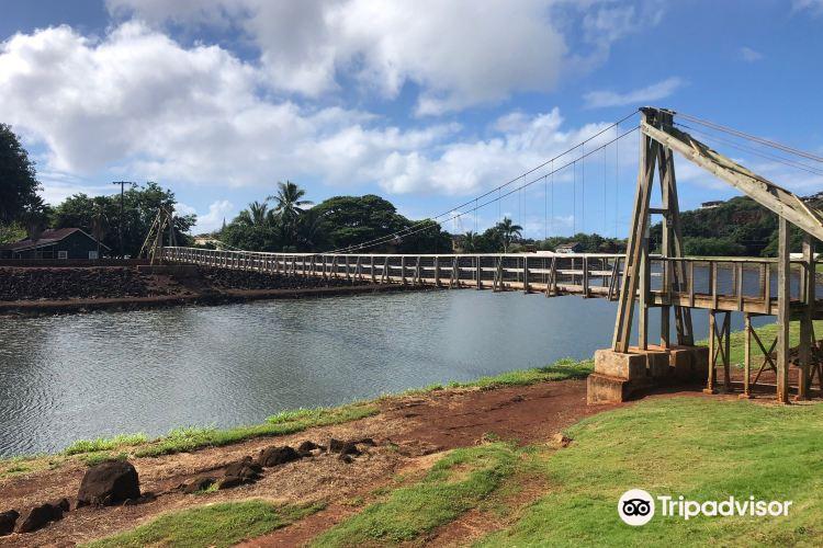 Hanapepe Swinging Bridge1