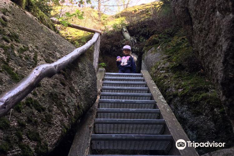 Felsenlabyrinth auf der Luisenburg2