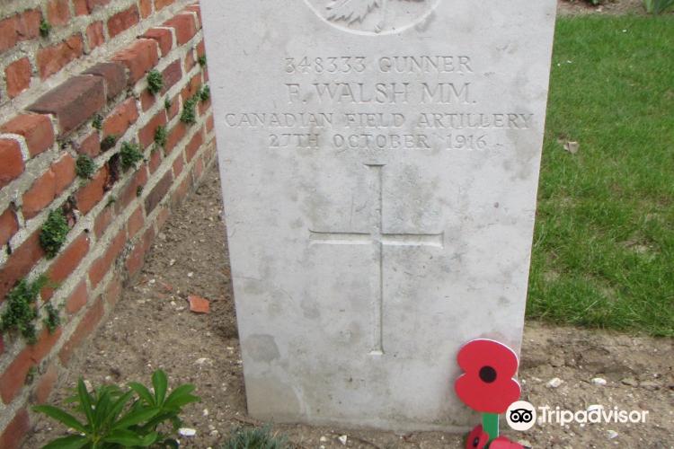 Bapaume Post Military Cemetery1