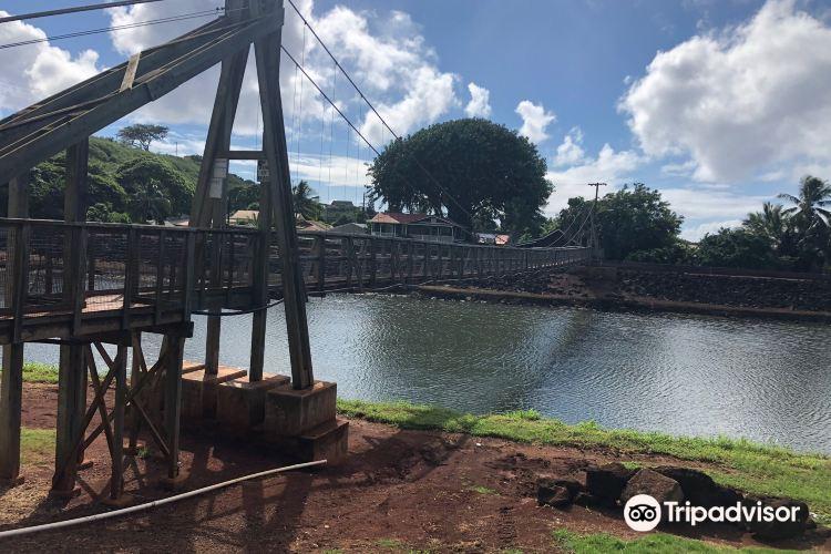 Hanapepe Swinging Bridge4
