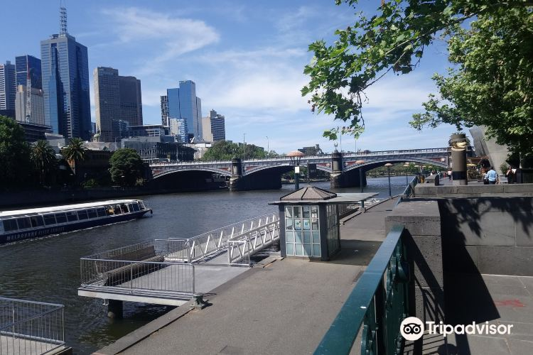 Southgate, on the Banks of the Yarra River1