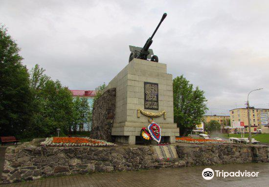 Monument to the 6th Heroic Komsomol Battery3
