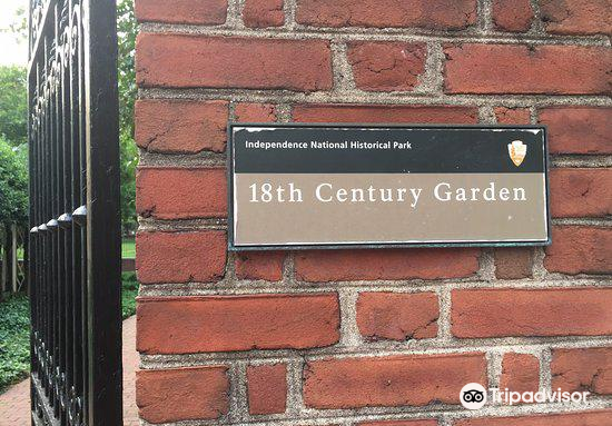 18th Century Garden of the Independence National Historic Park4