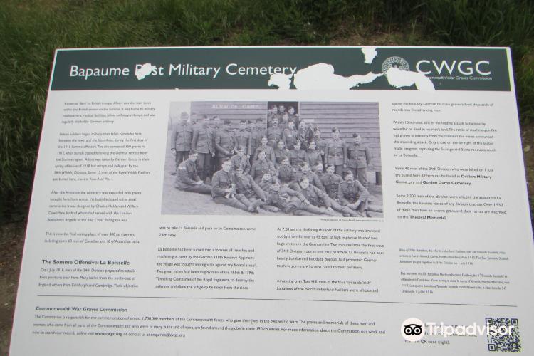 Bapaume Post Military Cemetery4