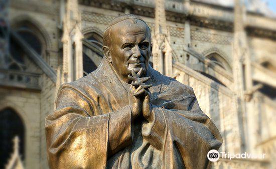Pope John Paul II Monument2