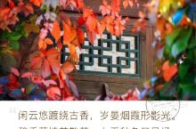 金秋红叶红满山 双龙峡自然风景区:位于门头沟区斋堂镇火村南2.5公里的青山翠谷中,是京西新开发的一个